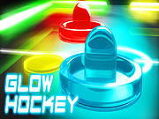 Glow Hockey Game